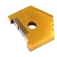 Пластины сменные режущие из быстрорежущей стали для сборных перовых сверл