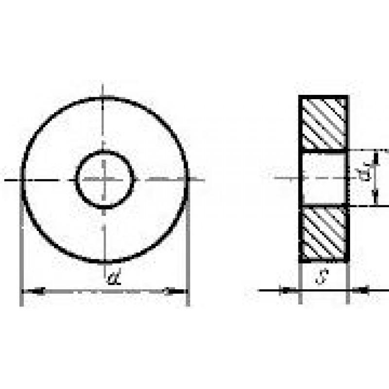 thumb Пластина круглая RNMA-150600 Т14К8 ГОСТ 19070