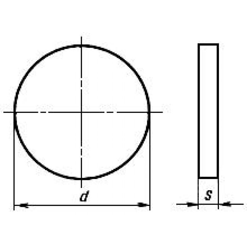 thumb Пластина RNGN-190800 ВОК-71 ГОСТ 25003