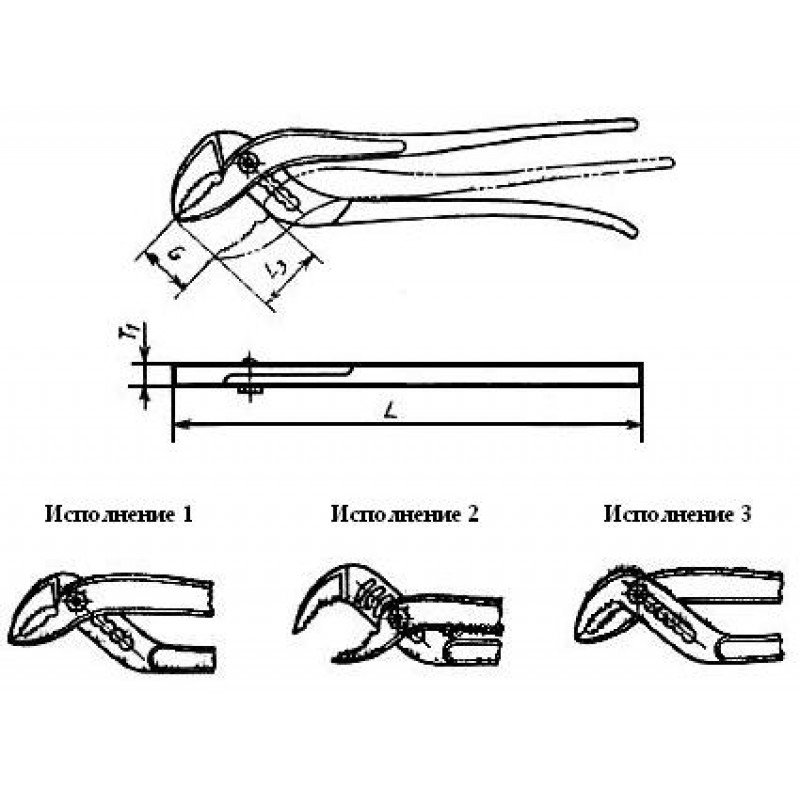 thumb Плоскогубцы 7814-0197 ГОСТ Р 50072