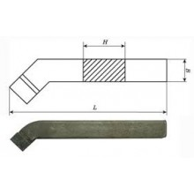 Резец токарный проходной отогнутый 25х20х170 ВК8 внутризавод