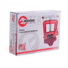 Тиски слесарные трубные 10-85 мм INTERTOOL HT-0059 Intertool_3