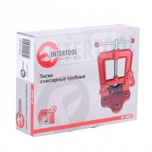 Тиски слесарные трубные 10-85 мм INTERTOOL HT-0059 Intertool_15
