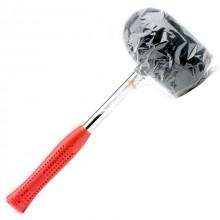 Киянка резиновая 1250г, 90мм черная резина, металлическая ручка INTERTOOL HT-0228 Intertool_5