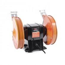 Станок точильный настольный STORM 400 Вт, 0-2950 об/мин, шлифкруг 200 мм. INTERTOOL WT-0820 Intertoo_4