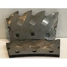 Сегмент к пиле дисковой по металлу (Геллера) 410х4 Р6М5 ГОСТ 4047 Минск