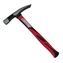 Молоток каменщика 600г, металлическая ручка HT-0225 Intertool