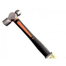 Молоток слесарный 340г.20 мм, круглый боек, ручка из стекловолокна UT-0702 Intertool