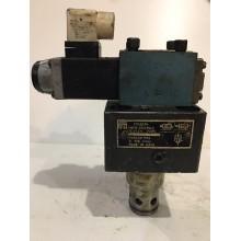 Клапан обратный встраиваемый с управлением МКГВ 25/3 Ф2 ЭД2.24 без клап без распр