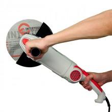 Шлифмашина угловая 2000 Вт, 6500 об/мин, диаметр круга 230 мм, плавный пуск, поворотная рукоятка INT_6