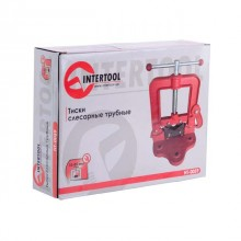 Тиски слесарные трубные 10-85 мм INTERTOOL HT-0059 Intertool_1