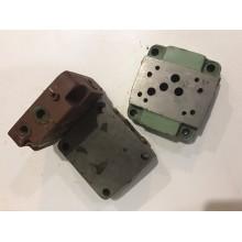 Плита присоединительная для гидрораспределителей Ду=10мм 114756.00 с боковым соединением на 8 отв.