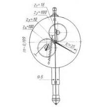 Индикатор часового типа 1ИЧТ  ТУ 2-034-627-84 КИ коррозия не работ.